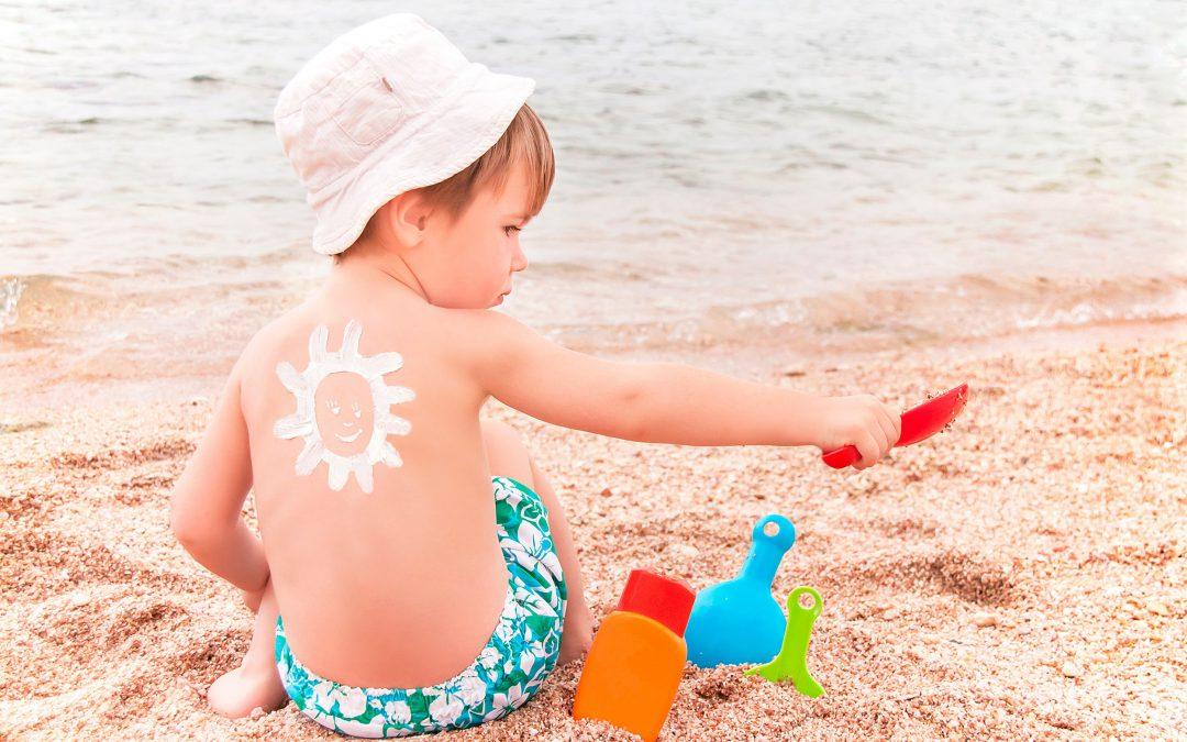 Todo lo que debes saber sobre fotoprotección infantil